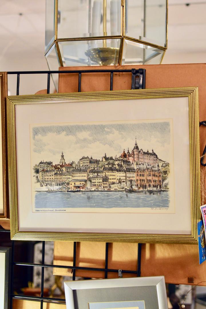 Stockholm drawing