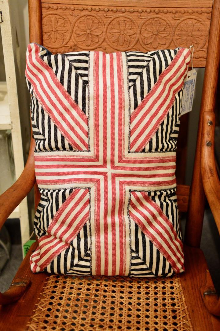 British flag pillow