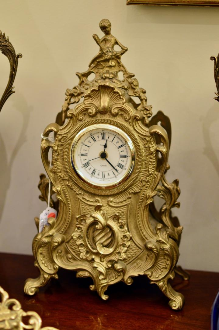 Rococo style modern clock