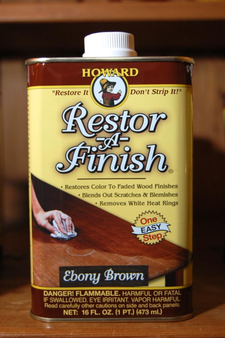 Howard Restor-A-Finish - Ebony Brown 16 fl oz