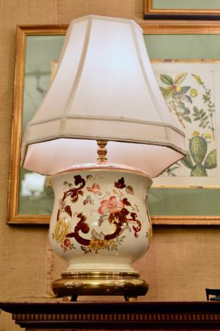 Lovely old lamp
