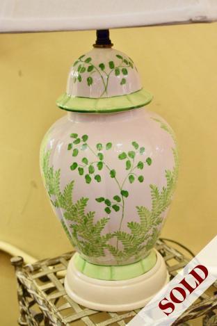 Beautiful vintage Chinese lamp