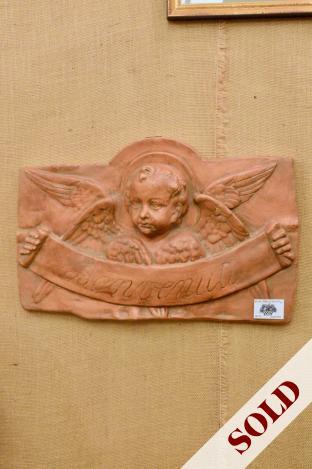 Vietri pottery wall plaque