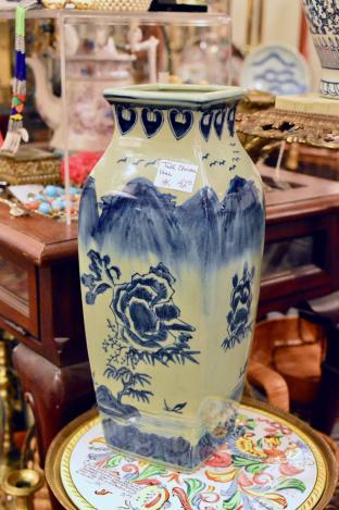 Tall Chinese vase