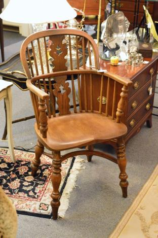 Windsor chair by Canon Bale