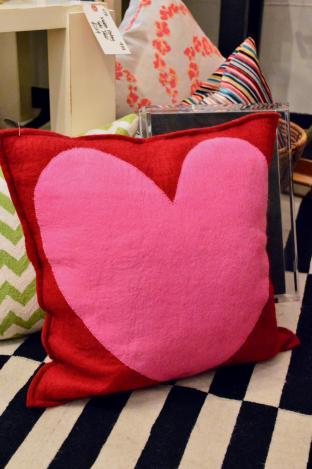 Heart felt pillow - Watson & Co