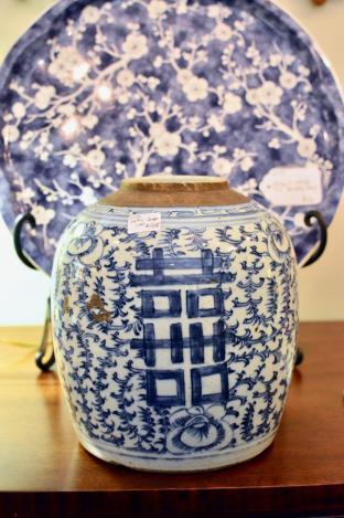 19th C ginger jar