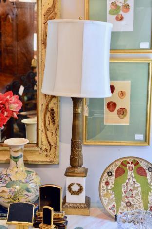 Regency lamp