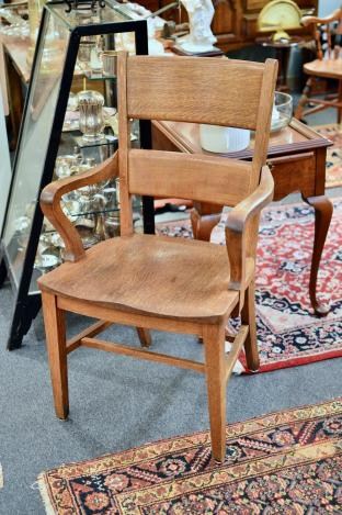 Antique large chair