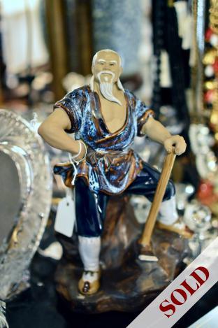 Mud man figurine