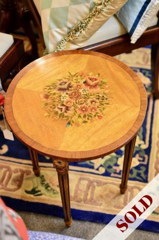 Italian hand painted occasional table