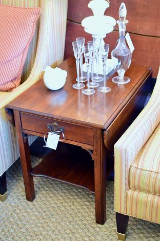 Pembroke side table - one of pair