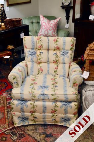 Vintage chintz ladies chair