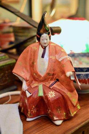 Japanese porcelain figure