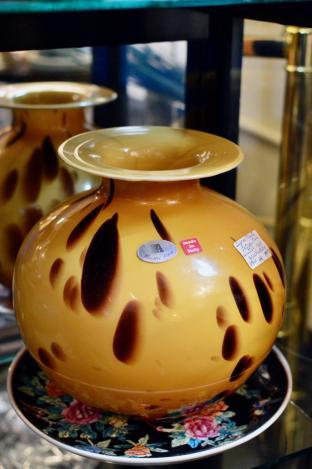 Signed Maestri Vetrai 1980s vase