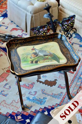 Pretty painted coffee table