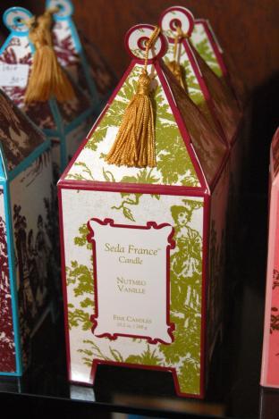 Seda France Candle Nutmeg Vanille 10.2 oz.