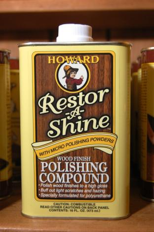 Howard Restor-A-Finish - Wood Finish Polishing Compound 16 fl oz
