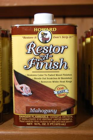Howard Restor-A-Finish - Mahogany 16 fl oz