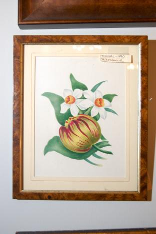 Original English 1840 Watercolor Painting