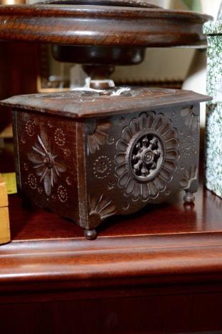 19th century French Norman Oak Open-work Small Box