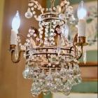 Antique petite chandelier