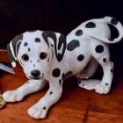 """Lenox"" Dalmatian dog figurine - hand crafted"