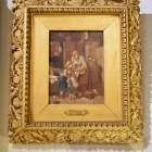 """The """"New Brother"""" Meyer von Bremen oil on canvas"""