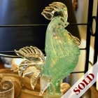 Murano made in Italy rooster
