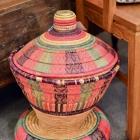 Egyptian woven basket
