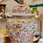 Large famille rose jar