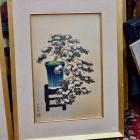 Japanese flowers print