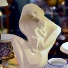 Mother & child large figurine