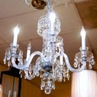 Beautiful crystal chandelier - rewired